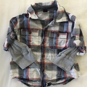 BabyGap long sleeve collared shirt